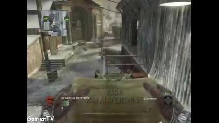 Call Of Duty Black Ops:невероятно убийство с балистичен нож + томахавка през цялата карта [xbox 360]