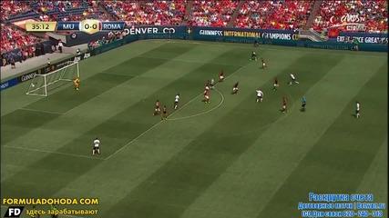 Уейн Руни с гол срещу Рома /приятелски мач - 26.07.14/