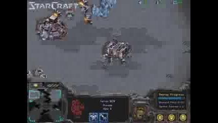 Starcraft Rush - Scv Attack
