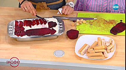 Рецептите днес: Скумрия с топла картофена салата и Тирамису с лакса - На кафе (21.01.2019)