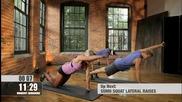 Тренировка за отслабване и тонизиране на мускулите. Сваляне на килограми- рамене и крака
