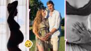 Красива и бременна: Нанси Карабойчева в 9-ия месец и изглежда прекрасно