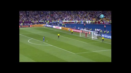 Italy vs England Penalties euro2012 Quarter finals