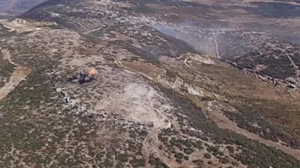 Syria: Drone captures airstrikes in N. Latakia as army beats back opposition