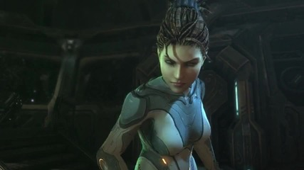 Starcraft 2 - Heart of the Swarm Trailer Reveal