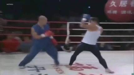 Какво става когато шаолин монах реши да стане кик боксьор
