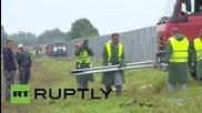 Унгария: Затворници работят по изграждането на стената по унгарската граница