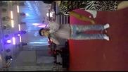 Тони Стораро Пее На Живо На Гръцки в Албена 2012