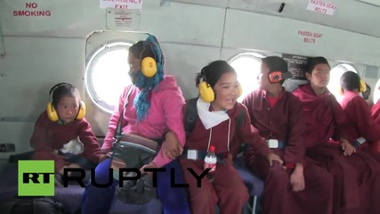 Nepal: Child monks evacuated from Nepalese monastery to safety