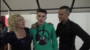 Dancing Stars - Албена със синът си (27.03.2014г.)