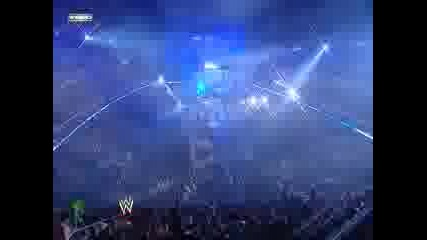 Wrestlemania 25 - John Cena vs Edge vs Big Show part 1