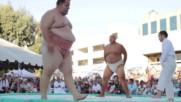 2016 Hd Us Sumo Open Sumo Slam Byamba vs Kelly Turnuva Ring Boks Kungfu Film Menejer 2016 Hd