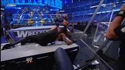 Triple H vs Undertaker - No Holds Barred 2/4 - Wrestlemania27