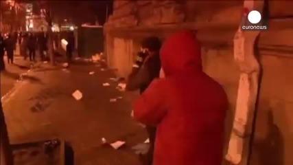 Реални кадри от Киев