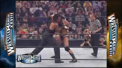 Кечмания 21 : Ренди Ортън - Гробаря // Wrestlemania 21 : Randy Orton - The Undertaker
