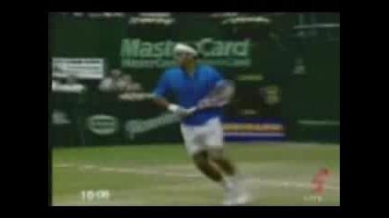 Невероятните Удари На Roger Federer