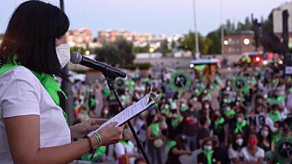 Spain: Madrid activists protest against bullfighting outside La Ventas ring