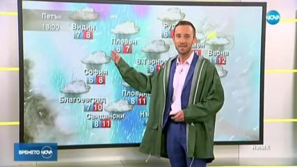Прогноза за времето (22.11.2019 - сутрешна)