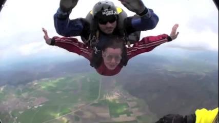 Скокове с тандем Скокове с парашут