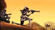 star.wars.the.clone.wars.s01e01 бг субтитри