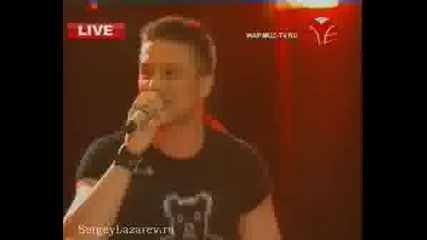 Сергей Лазарев на живо от дискотека в Юрмала