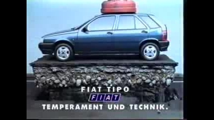 Fiat Tipo Reklama
