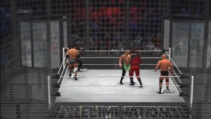 Wwe '13_ Elimination Chamber - The Rock vs Undertaker vs Kane vs Shawn Michaels vs Hhh vs Stone Cold