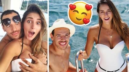 Дани и Алекс Петканови: Море, слънце, романтика и... бременно коремче!