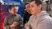 Спиращо дъха изпълнение на група акробати в Великобритания търси талант