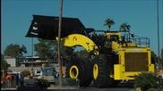 Най-голямата фадрома в света!- 70 yard super high lift Letourneau L2350