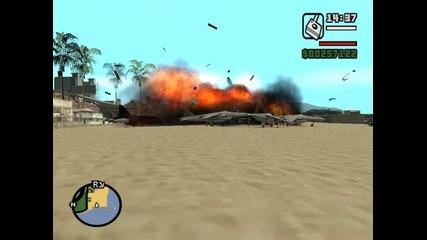 Големи експлозии на Gta san andreas (3)