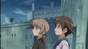 Strike Witches Епизод 3 bg sub