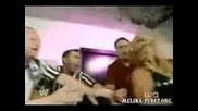 Melina Vs Beth On Backstade Raw5.12.08