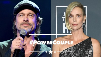 New couple alert: Brad Pitt and Charlize Theron