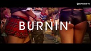 New! 2014   Calvin Harris & R3hab - Burnin' ( Официално Видео )