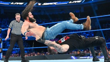 Kevin Owens vs. Elias – King of the Ring First-Round Match: SmackDown LIVE, Aug. 20, 2019