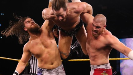 The Forgotten Sons vs. Grizzled Young Veterans: WWE NXT, Feb. 26, 2020