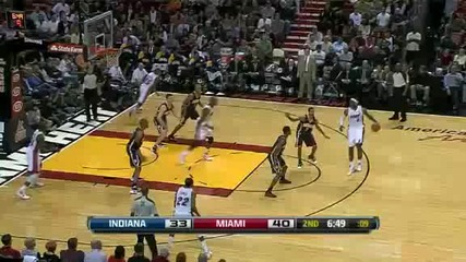 Indiana Pacers @ Miami Heat 83 - 118 [04.01.2012]