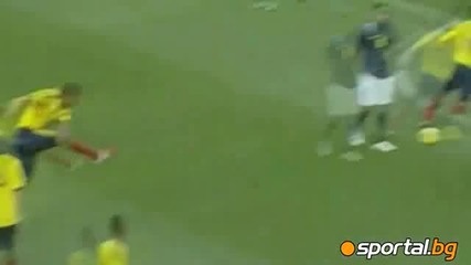 Еквадор - Колумбия 1 - 2