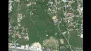Квартал Манастирски Ливади от сателит