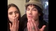 Ian и Nina пожелават ' Честит Рожден Ден ' на Даяна