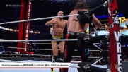 Cesaro Swings into a Seth Rollins splash: WrestleMania 37 – Night 1 (WWE Network Exclusive)