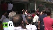 Turkey: 'Flower-bouquet' bomb leaves Mersin's pro-Kurdish party HQ in ruins