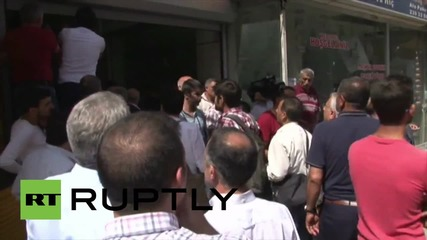 Turkey: 'Flower-bouquet' bomb leaves Mersin's pro-Kurdish party HQ in ruins