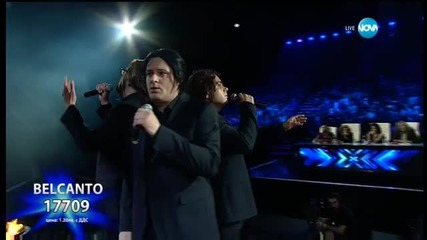 Belcanto - Bohemian Rhapsody - X Factor Live (24.11.2015)