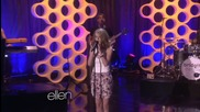 Bridgit Mendler Performs ' Hurricane - live
