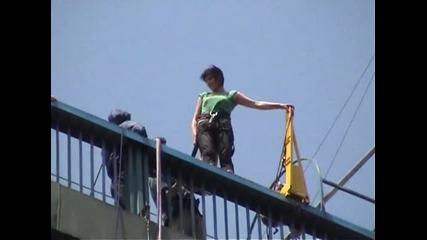 Бънджи скок от Аспарухов мост