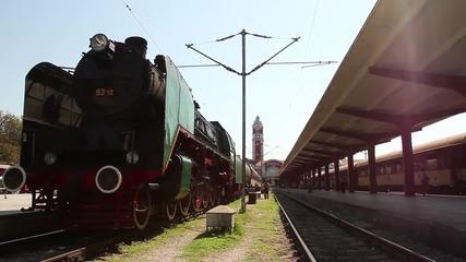 Парният локомотив, возил траурния влак на Борис Трети, е атракция във Варна