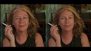 Специални видео ефекти променят възрастта на жена с десетилетия