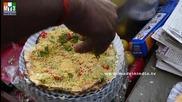 Бърза Храна на улицата .. Masala Papad - Papadam - Mumbai Street Food
